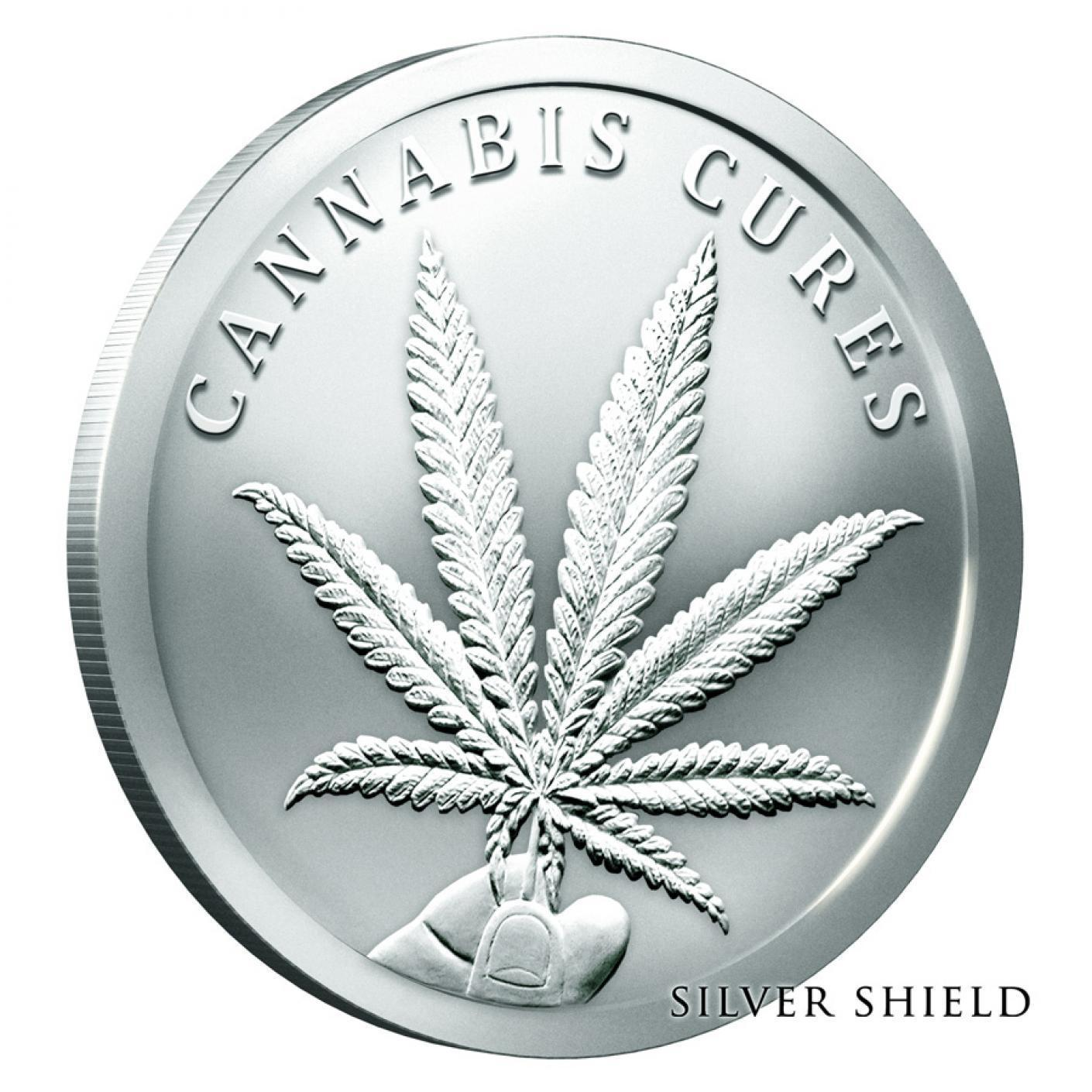 2019 Silver Shield 1 oz .999 Pure DONT TREAD ON ME BU Silver Round in Capsule