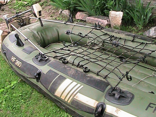 Relic hunters for Fish hunter raft